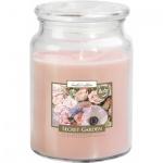 Bispol Maxi Secret Garden vonná svíčka, 500 g