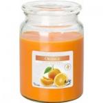 Aura Maxi Pomeranč vonná svíčka, 500 g