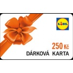 LIDL Darková karta na nákup v hodnotě 250,- Kč